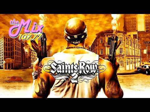 107.77 The Mix FM Radio Station from Saints Row 2 COMPLETE with Jingles, Commercials and DJ Comments