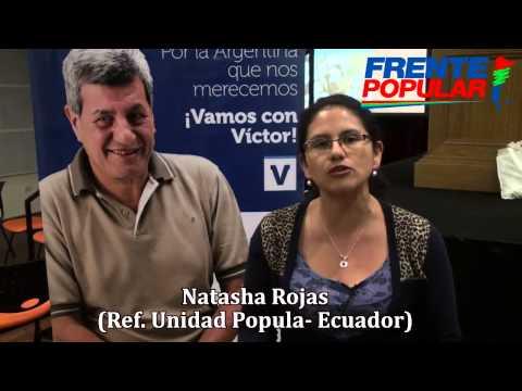 Invitados internacionales en el Congreso Nacional del Frente Popular