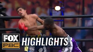 Travon Lawson stuns Angel Barrientes with vicious fourth-round knockout |  HIGHLIGHTS | PBC ON FOX - YouTube