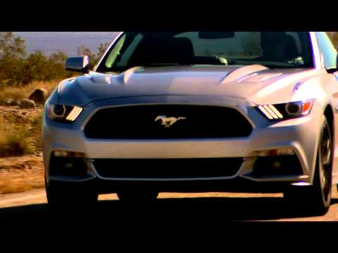 2015 Ford Mustang Driving Footage