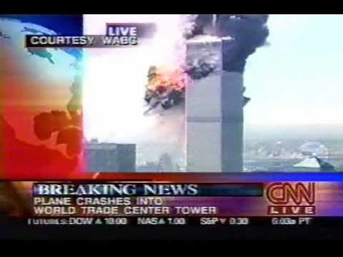 CNN Second Plane Collides