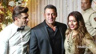 Salman Khan attends Bipasha Karan wedding reception