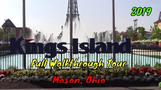 Kings Island Full Tour - Mason, Ohio (Audio Fixed)