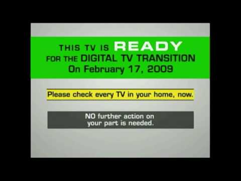 Digital TV Transition Test on KICU 121708