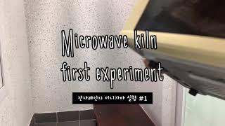 전자레인지 미니가마 실험 #1 Microwave kil…