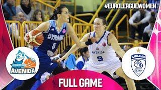 Perfumerias Avenida v Dynamo Kursk - Full Game - EuroLeague Women 2019