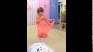 """Песня """"Башмачки"""" солист Самарина Ульяна, 6,5 лет"""