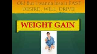 Menopause and Weight Gain - how to lose the weight fast - up to 15 lbs. in 6 days