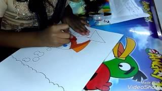 Callysta's Diary - Juara 2 Lomba Mewarnai