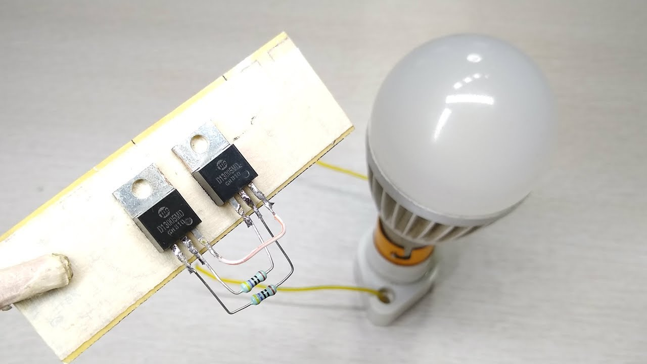 How to make simple mini inverter 12v to 220v | Electronic project |