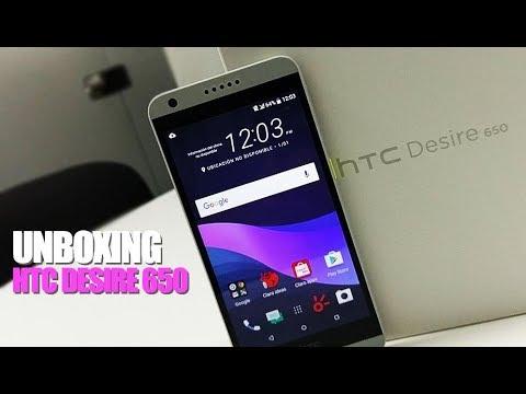 HTC Desire 650 - UNBOXING