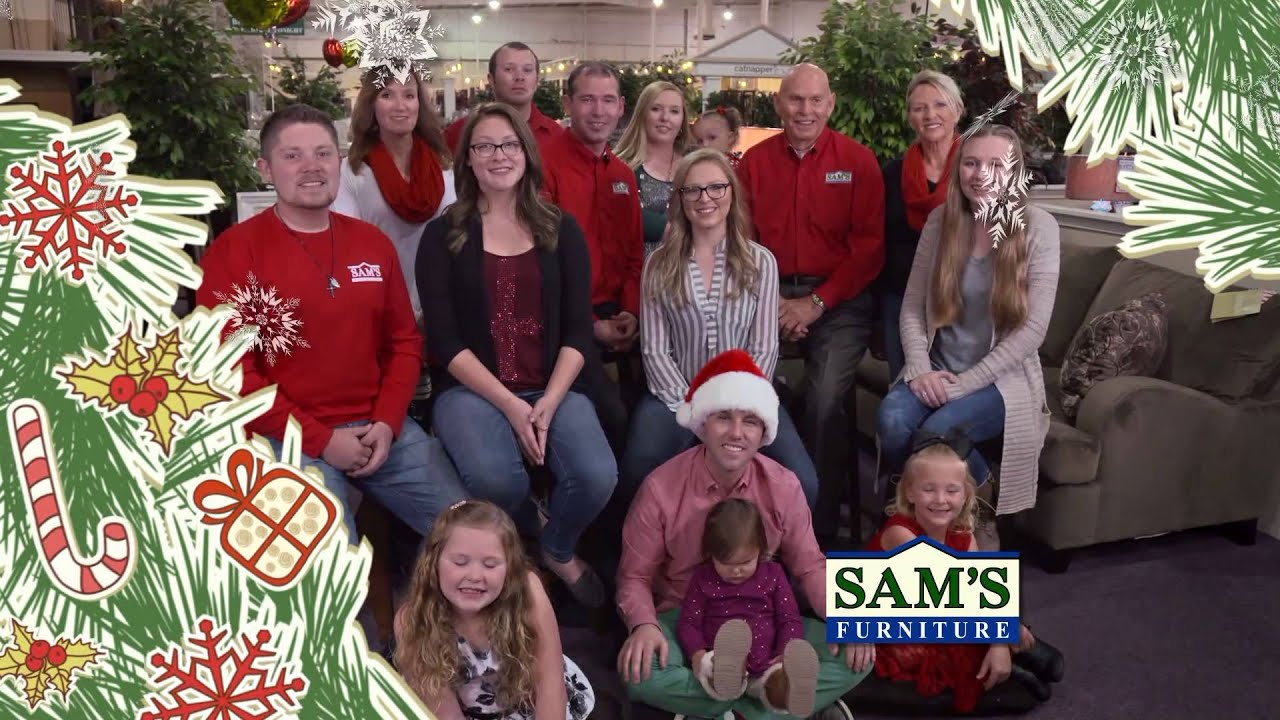 Samu0027s Furniture Family Christmas 2015   YouTube