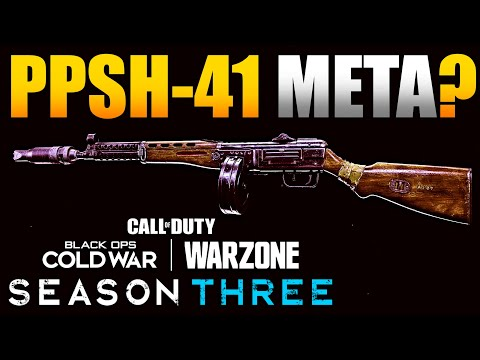 Is the New PPSH-41 Meta in Warzone After Season 3 Update? | Basic Weapon Damage/TTK