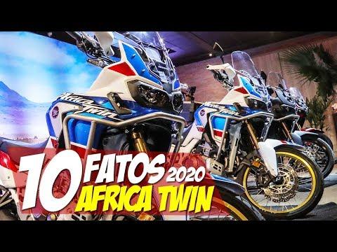 10 FATOS: INÉDITA Africa Twin 2020: TUDO que mudou na LENDA! - Motorede