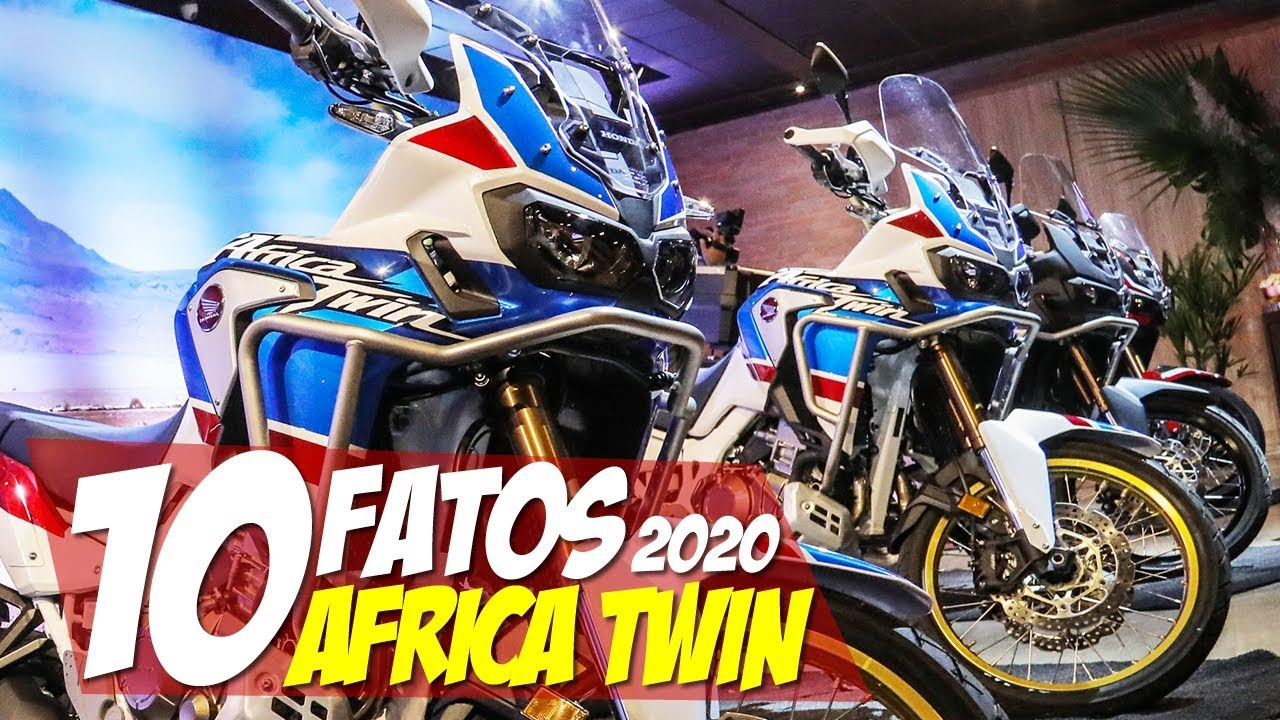 10 fatos in dita africa twin 2020 tudo que mudou na. Black Bedroom Furniture Sets. Home Design Ideas