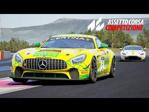 Mercedes AMG GT4 Paul Ricard Race | Assetto Corsa Competizione |