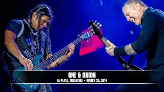 Repeat youtube video Metallica: One & Orion (MetOnTour - Buenos Aires, Argentina - 2014)