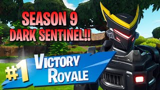 "Season 9 ""Dark Sentinel"" Skin!! 14 Elims!! - Fortnite: Battle Royale Gameplay"