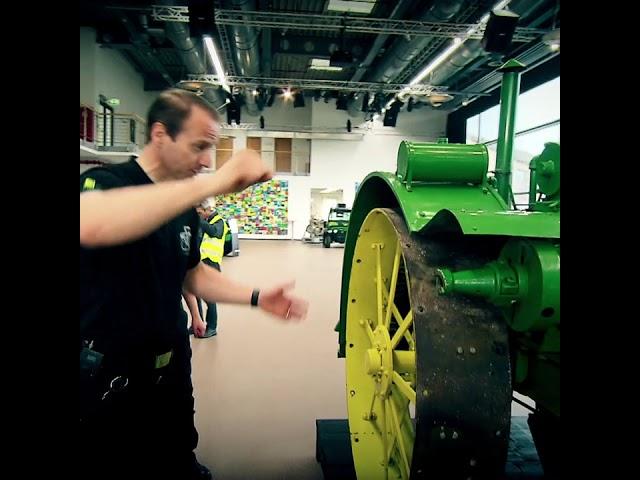 Ein Klassiker der Traktorengeschichte: Waterloo Boy