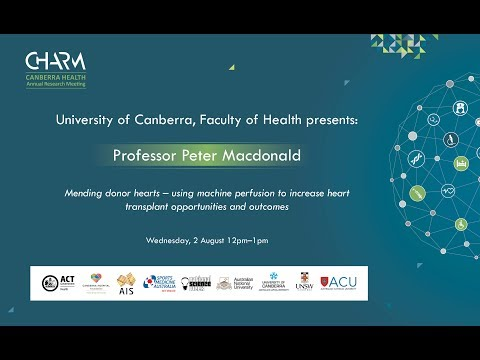 CHARM 2017 LIVE STREAM: Professor Peter MacDonald