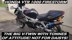 1998 HONDA VTR 1000 FIRESTORM REVIEW AND THOUGHTS