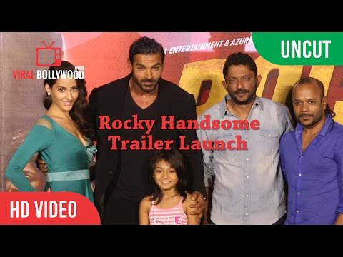 UNCUT - Rocky Handsome Trailer Launch | John Abraham, Shruti Haasan | T-Series | Viralbollywood