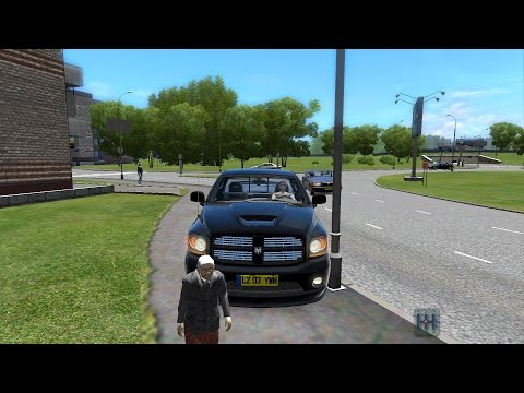 Dodge Ram SRT 10 ( City Car Driving)