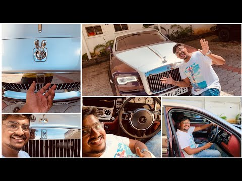 I Rented ₹6.21 Crores Rolls Royce in Chennai | Luxury Car Review | Vijay Travelled Car