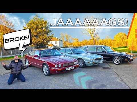I Bought the Cheapest Jaguar XJ8 in the UK