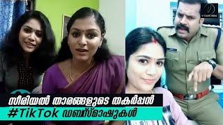 സീരിയൽ താരങ്ങളുടെ തകർപ്പൻ #TikTok ഡബ്സ്മാഷുകൾ! Malayalam Serial Stars TikTok Dubsmash