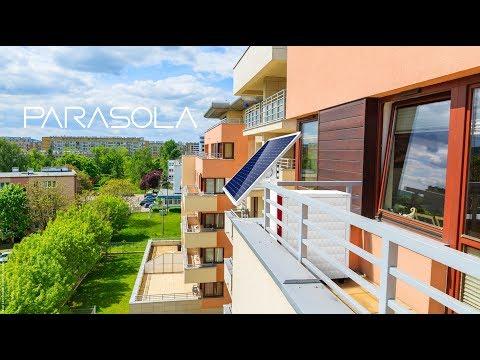 わずか1m²で家庭の消費電力を賄う、新たな次世代型エネルギーシステム「PARASOLA」を発表。