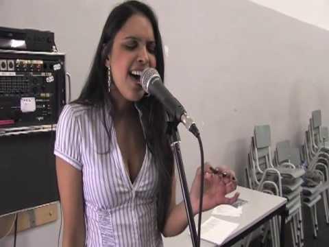 Jennifer Bhagwandin singing 'Hurt'
