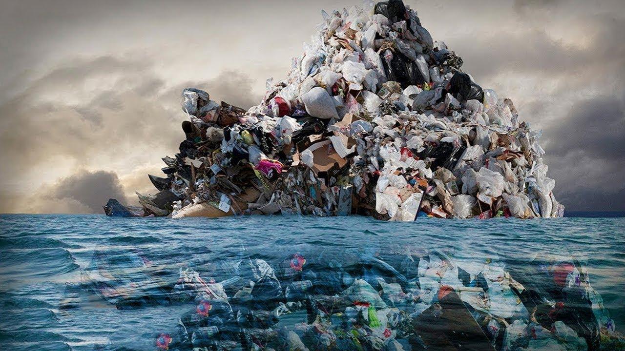ОГРОМНОЕ тихоокеанское мусорное пятно - это НЕ ТО, что выдумаете ...