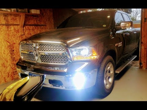 HOW TO INSTALL HID LIGHTS ON NEW RAM TRUCKS