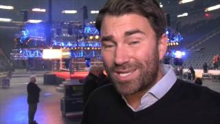 EDDIE HEARN ON JAMES DeGALE v LUCIAN BUTE, HIS FIGHT HIS PREDICTION, PPV & MORE  (FROM CANADA)