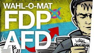 Wahl-O-Mat AfD & FDP - AEKMMN [Wahlprogramme zusammengefasst]