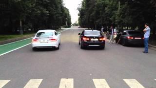 audi A7 300 Hp vs BMW 328i 245 Hp_part1