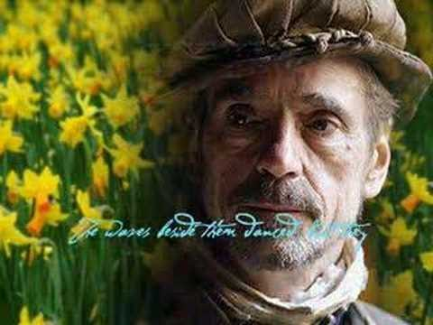 """Daffodils"" read by Jeremy Irons"