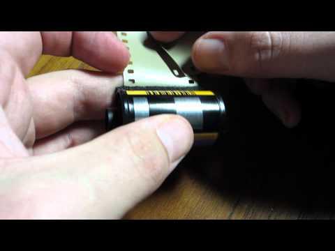 DIY film extractor