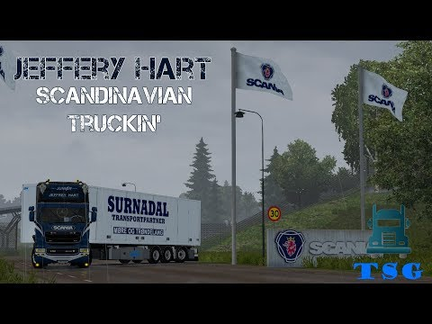 Jeffery Hart Junior - Scania R580 Streamline - Scandinavian Truckin'