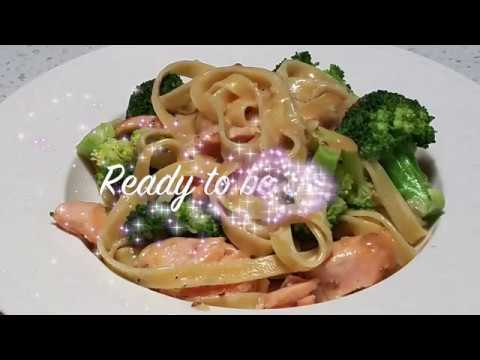 Sesame Cream Salmon Pasta Kewpie Recipes