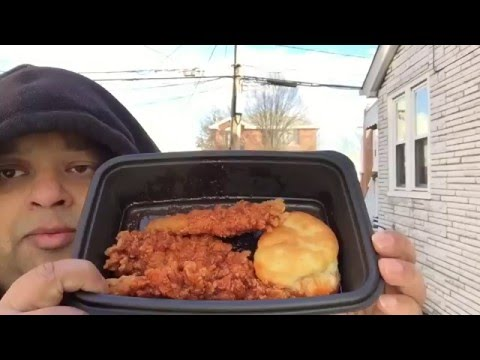 KFC Nashville Hot Tenders (Kentucky Fried Chicken)