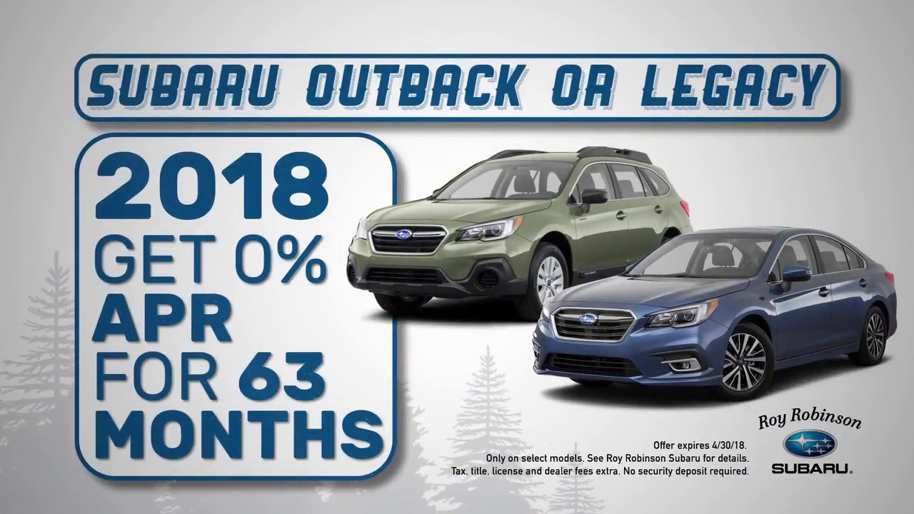 Roy Robinson Subaru | Top New Car Release Date