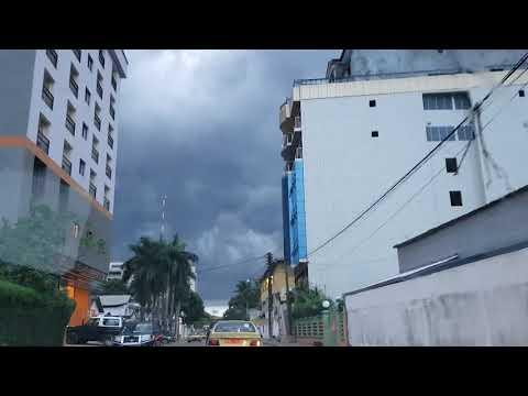 Douala, Cameroon..the city, the rain and peace