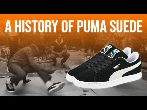 How The PUMA Suede Became A Cultural Icon