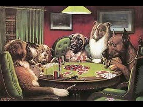 Dogs playing poker picture original make money zynga poker