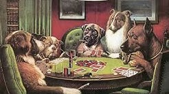 The Story of the Dogs Playing Poker Paintings!