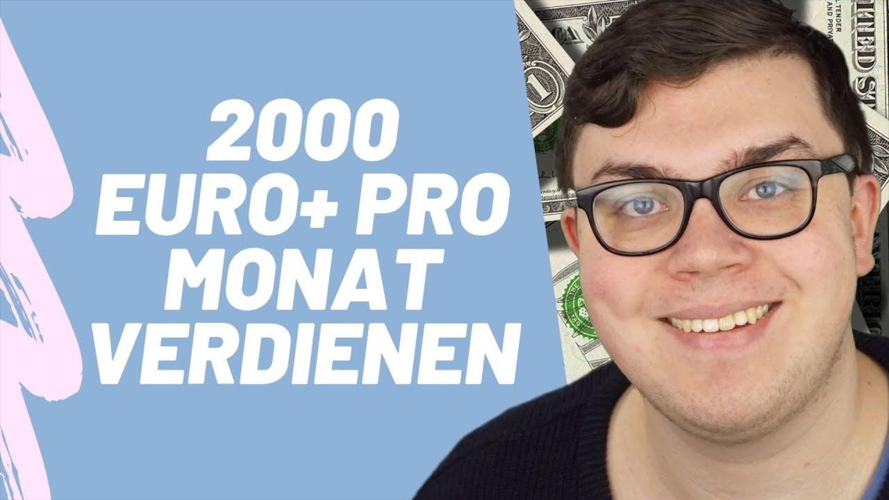 2000 euro im monat verdienen