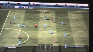 FIFA 12 - A.C. Milan vs Manchester City Gameplay