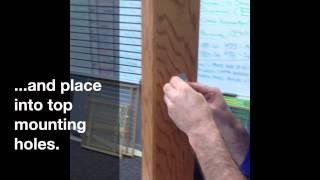 Guardmaster Iii 477, 480, 490 Tall Wood Slat Swing Gate Installation Instructions